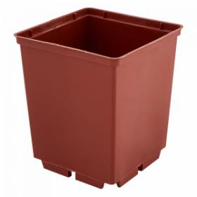 Kvadratinis vazonėlis daigams