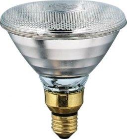 Kaitrinė lempa PHILIPS PAR38 IR, infrared, E27, 175W, skaidri, šildanti, 5000 val.