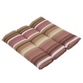 Pagalvelė kėdei PATIO Ambiente Sitz C010-04PB, 45x50x5,5 cm, tekstilė, dryžuota
