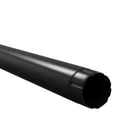 Lietvamzdis BILKA, 1 m Skersmuo 90 mm, juodos spalvos, RAL9005