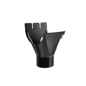Nuolaja BILKA, Skersmuo 125/90 mm, juodos spalvos, RAL9005