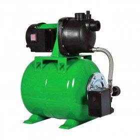 Vandens tiekimo sistema 600 W, kėlimo aukštis 35 m, našumas 50 l/min, galia 600 W