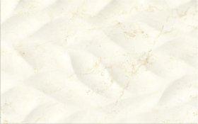 Plytelių keraminis dekoras CERSANIT PINEVILLE CREAM GLOSSY STRUCTURE, 25 x 40 cm, kreminės spalvos