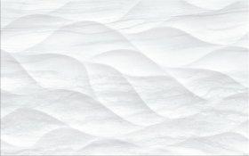 Plytelių keraminis dekoras CERSANIT LAKEVIEW WHITE GLOSSY STRUCTURE, 25 x 40 cm, baltos spalvos