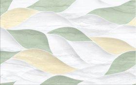 Plytelių keraminis dekoras CERSANIT LAKEVIEW MULTI GREEN GLOSSY STRUCTURE, 25 x 40 cm
