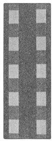 Kilimas DIJON, 67 x 200 cm, pilkos spalvos, 293131, ST