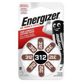 Maitinimo elementai ENERGIZER 312, klausos aparatui, 8 vnt.