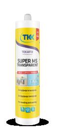 Sandariklis TKK TEKAFIX SUPER MS, Transparent (bespalvis) 290ml