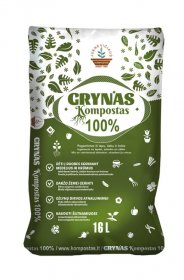 Grynas kompostas, 16 l