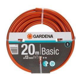 """Laistymo žarna 13mm (1/2"""") 20 m. GARDENA Basic, Rinkinys: 1 x 18300, 1 x 18213, 1 x 18215"""
