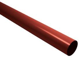 Lietvamzdis su jungtimi S-LON  Skersmuo 80 mm, ilgis 4,0 m, raudonos spalvos