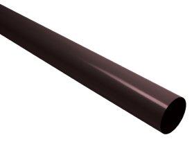Lietvamzdis su jungtimi S-LON  Ilgis 4 m, Skersmuo 80 mm, rudos spalvos, PG