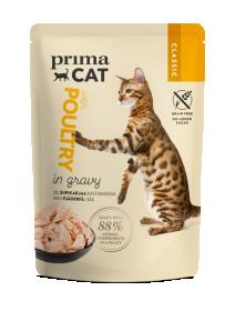 Konservuotas kačių ėdalas PRIMACAT Clasics