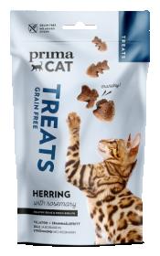 Skanėstas katėms PRIMACAT, traški silkė su rozmarinais, 40g
