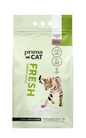 Kraikas katėms PRIMACAT, Fresh, obuolių aromato, baltas 5L