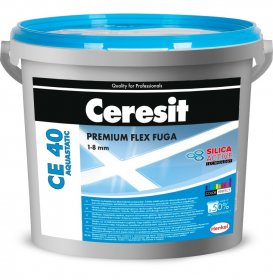 Plytelių tarpų glaistas CERESIT CE40 AQUASTATIC Grey 07, 5 kg