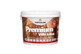 Fasadiniai dažai TOPCOLOR PREMIUM VILLA LATEX, 10 l, balti, mediniams paviršiams