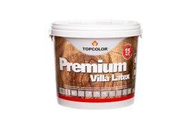 Fasadiniai dažai TOPCOLOR PREMIUM VILLA LATEX, 5 l, geltoni, mediniams paviršiams