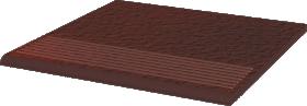 Klinkerinės grindų plytelės PARADYZ CLOUD BROWN DURO STOP PROSTA 30 x 30 cm, kilmės šalis Lenkija