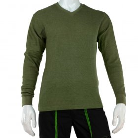 Vyriški šilti marškiniai ilgomis rankovėmis HERVIN, 7860020, chaki sp., XL, 190g