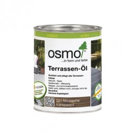 Aliejus terasoms OSMO 021, brandinto ąžuolo atspalvio, 0,75 l