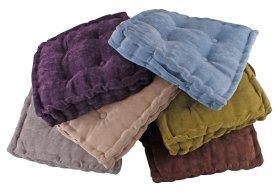 Pagalvėlė kėdei, 40 x 40 x 8 cm., įvairių spalvų