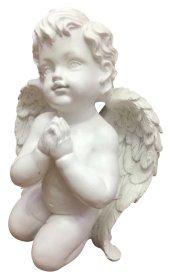 Statulėlė angeliukas, 22 cm., pagaminta iš polirezino