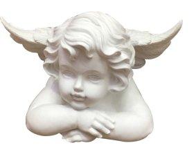 Statulėlė angeliukas, 17 cm., pagaminta iš polirezino