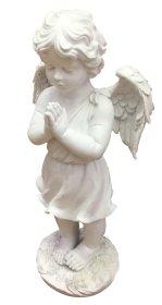 Statulėlė angeliukas, 50 cm., pagaminta iš polirezino