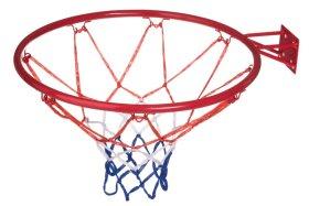 Krepšinio lankas su tinkleliu ATOM, skersmuo 47cm, plienas