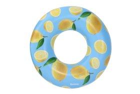 Plaukimo ratas BESTWAY Scentsational Lemon Swim Ring, skersmuo - 1,19 m., 36229
