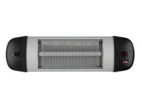 Infraraudonųjų spindulių vidaus šildytuvas su nuotoliniu valdymo pultu, 500-1500 W., IP34