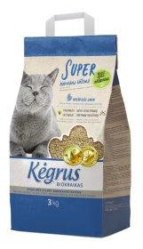 Augalinės kilmės kačių biokraikas KĖGRUS, 3 kg