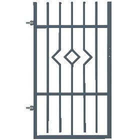Dekoratyvinės tvoros varteliai POLBRAM ARIA