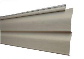 PVC dailylentė SIDING BOR Matmenys 0,204 x3,81 m, skirta fasadui, smėlio spalvos, 1 lentelė - 0,77724 m2, PG