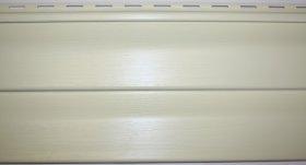 PVC dailylentė SIDING BOR Matmenys 0,204 x3,81 m, skirta fasadui, kremo spalvos, 1 lentelė - 0,77724 m2