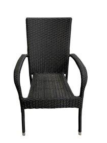 Kėdė HNB-BC01, plienas, išmatavimai 63 x 55 x 95 cm., juoda