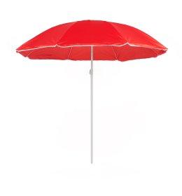 Pakreipiamas pliažo skėtis  B01 raudonas skersmuo 180cm