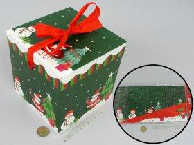 Sulankstoma dovanų dėžutė, 15 x 15 x 15 cm.