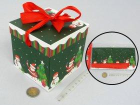 Sulankstoma dovanų dėžutė, 10 x 10 x 10 cm.