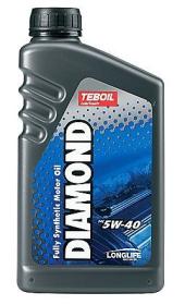 Variklinė alyva TEBOIL DIAMOND SAE 5W-40, sintetinė, 1L