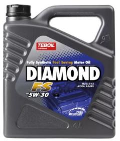 Variklinė alyva TEBOIL DIAMOND SAE 5W-40, sintetinė, 4L