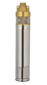 Panardinamas giluminis siurblys TERRA 4/150, kėlimo aukštis 100 m, našumas 40 l/min, galia 1100W