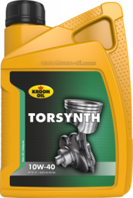 Variklinė alyva KROON-OIL TORSYNTH 10W-40, 1L, pusiau sintetinė