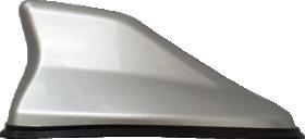 Automobilinė antena ALBURNUS SHARK FIN, sidabrinė