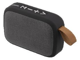 Kolonėlė STREETZ CM770, 3W, Bluetooth, nešiojama, 3.5 mm, su FM imtuvu, USB/ TF/AUX/FM, juodos sp.