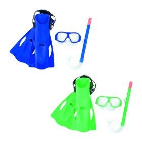 Nardymo įrangos komplektas BESTWAY Pro SureSwim kaukė, kvėpavimo vamzdelis, plaukmenys, nuo 7 metų