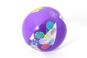 Spalvotas pripučiamas kamuolys BESTWAY 31036