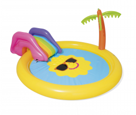 Pripučiamas žaidimų baseinas BESTWAY Sunnyland Splash, 2,37 x 1,04 m., 53071