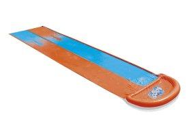 Pripučiama dvivietė vandens čiuožykla BESTWAY Double Slide, 4,88 m., 52328